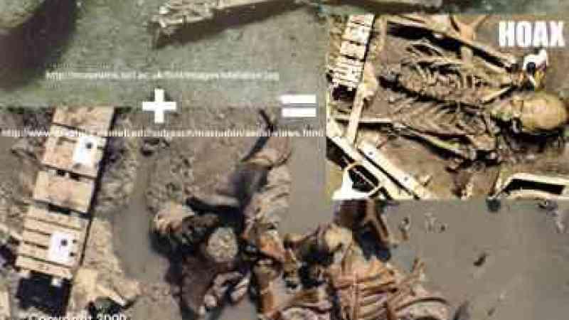 Esqueleto humano gigante na Arábia (Reprise)