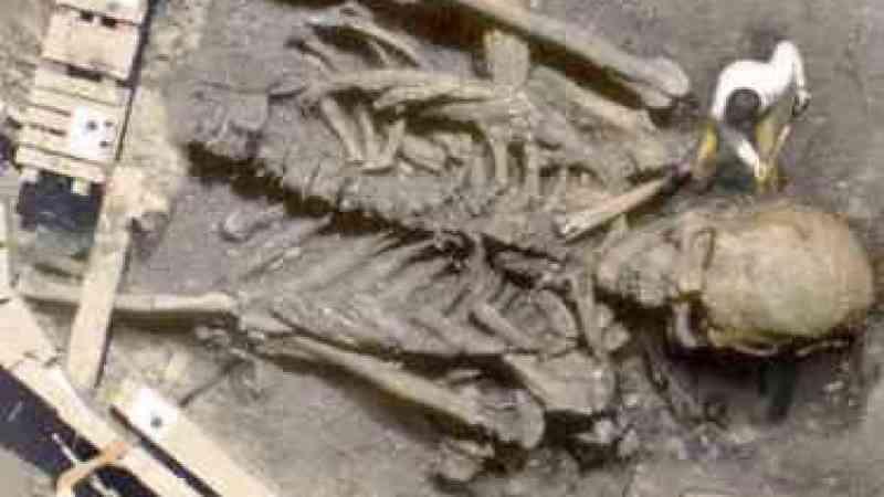 Esqueleto humano gigante encontrado na Arábia Saudita!
