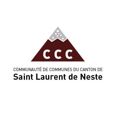 Logo de la Communauté de Communes de Saint Laurent de Neste