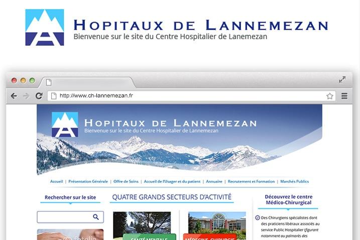 mockup d'un site internet réalisé par le CETIR