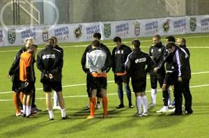 Los 'titulares' no jugaron el partidillo contra el Ceutí de Liga Nacional.