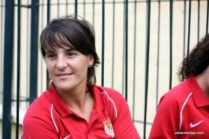 Olga Chaves, entrenadora del Carmelitas.