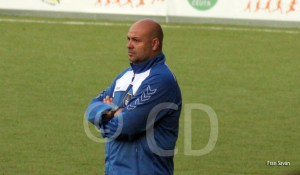 Cándido Rosado, entrenador del Recreativo de Huelva 'B'