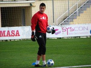 José Vicente Garrido apunta a titular ante el Recre 'B'.