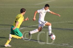 Ismael marcó el gol del Atlético de Ceuta en Ayamonte