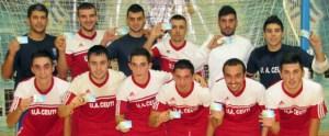 La plantilla de la UA Ceutí FS se ha sumado a la campaña de abonos