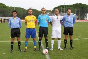El sevillano Peña Varela, el último árbitro que le pitó al Atlético de Ceuta.