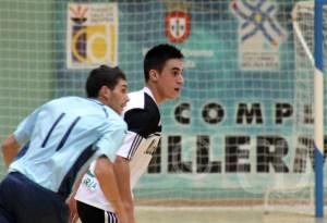 Rubén Montes consiguió un 'hat-trick' decisivo ante el CD Ejido