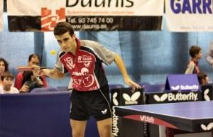 Ferrán Brugada, jugador del CER L´Escala, ganó sus dos partidos.