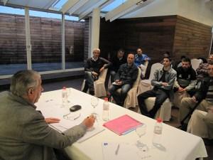 Reunión entre la Federación y los clubes de la categoría benjamín