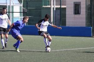 Ceuta encajó cuatro goles en el primer tiempo