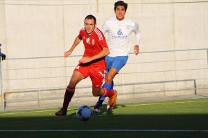 Antonio Prieto ha jugado en la banda derecha en las últimas jornadas