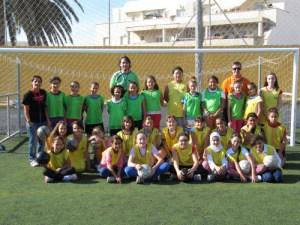 Pascual Ramos es el seleccionador alevín de fútbol 8 femenino