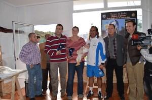 Miguel Ángel Gómez y Mariyou Moreno, campeones en mixto absoluto