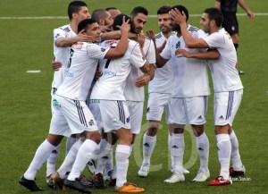 Los jugadores del Atlético de Ceuta esperan repetir triunfo en el Murube.