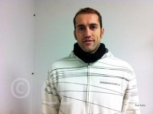 José Manuel Martínez es el único veterano en la actual plantilla del CN Caballa