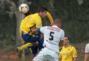 Sandro es el único futbolista del Atlético de Ceuta que ha jugado todos los minutos