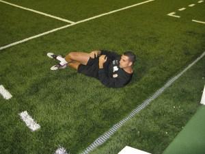Javi Corrales ha recaído de la lesión de pubis