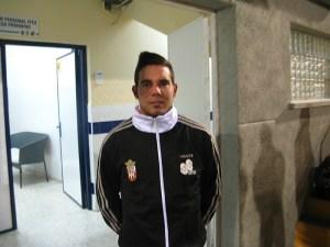 Borja se había incorporado a los entrenamientos del Atlético de Ceuta el 2 de enero