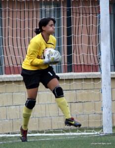 Mimi dejó la portería a cero tras cuatro jornadas encajando goles su equipo