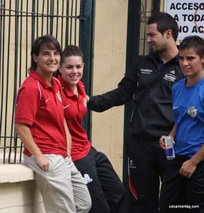 El presidente del Carmelitas está contento con el trabajo de Olga Chaves