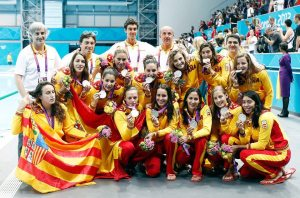 La selección española ganó la plata en los Juegos de Londres