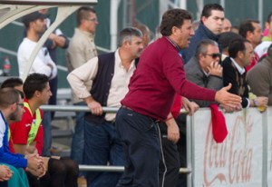 Diego Román, técnico del CD Cabecense