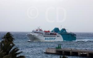 El Passiò per Formentera ha garantizado el tráfico marítimo en el Estrecho