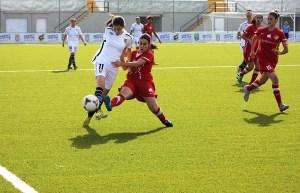 Cris, la autora del gol de la victoria ante el Sevilla 'B'