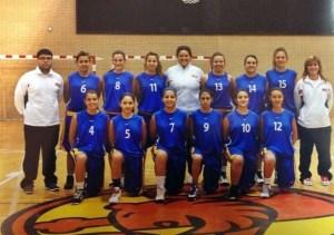 Las selecciones mini e infantil toman el relevo de los cadetes que participaron en el Nacional de Zaragoza