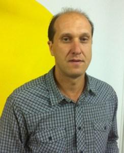 José A. González, entrenador del Montilla C.F.