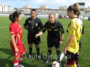 Por primera vez esta temporada un colegiado de Regional, Mohamed Ahmed, pitó un partido de 2ª femenina