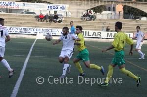 El Atlético de Ceuta ofreció una pobre imagen en Montilla