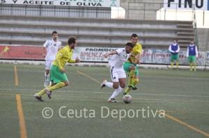 El Atlético de Ceuta es otro cuando juega lejos de casa