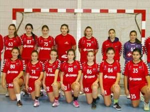 Equipo infantil femenino del BM. Ciudad de Algeciras
