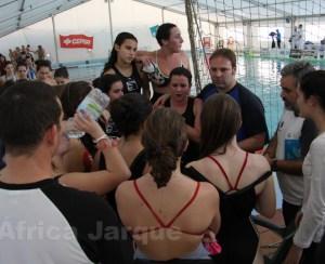 El equipo femenino del Caballa sólo ha podido traerse una victoria de tierras madrileñas