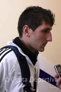 Jaime es un valor seguro en la defensa del Atlético de Ceuta