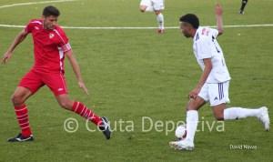 El canario fue un incordio para la defensa del Sevilla C por su calidad y desborde