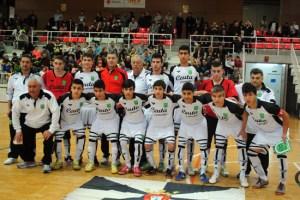 Formación de la selección de Ceuta sub-16 antes del decisivo choque ante Cataluña