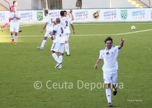 El ceutí marcó ante el Sevilla C y espera repetir este domingo contra el Arcos