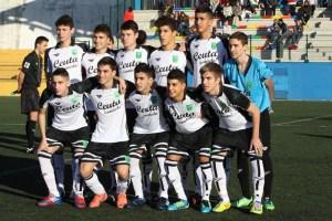 'Once' de la selección sub'16 que se enfrentó a Baleares en Melilla