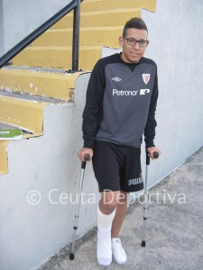 Tarek se pierde el derbi por culpa de un esguince de grado tres en el tobillo derecho