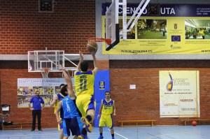 Jorge Ríos lideró el ataque ceutí con 17 puntos