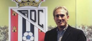Goiko, el día de su presentación como entrenador de la AD Ceuta