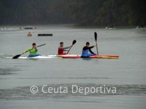Un momento de la prueba del Campeonato Autonómico de Ceuta, clasificatorio para el Nacional