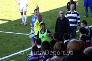 Fernández Arjona se convirtió en el triste protagonista del Atlético de Ceuta - CD Alcalá