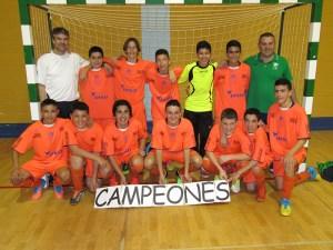 El Natación Ceuta ha sido el dominador de las competiciones de fútbol y fútbol sala infantil