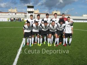 El Ceutí empezó con este 'once' el decisivo partido contra el Siempre Alegres