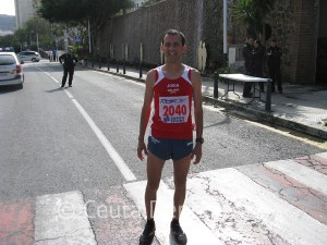 Mustafa Mohamed Abelrrahaman fue el nejor ceutí al terminar cuarto