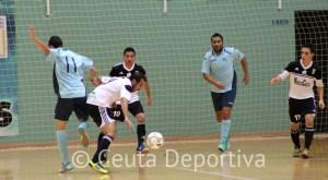 Mohamed, sancionado, y Chito, lesionado, son bajas en el Ceutí FS para medirse al Racing Alameda